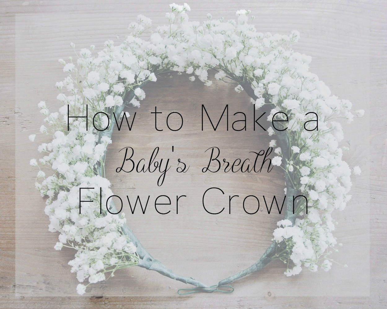 How to make a babys breath flower crown zoe with love how to make a babys breath flower crown dhlflorist Choice Image