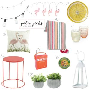 Patio Picks Under $50