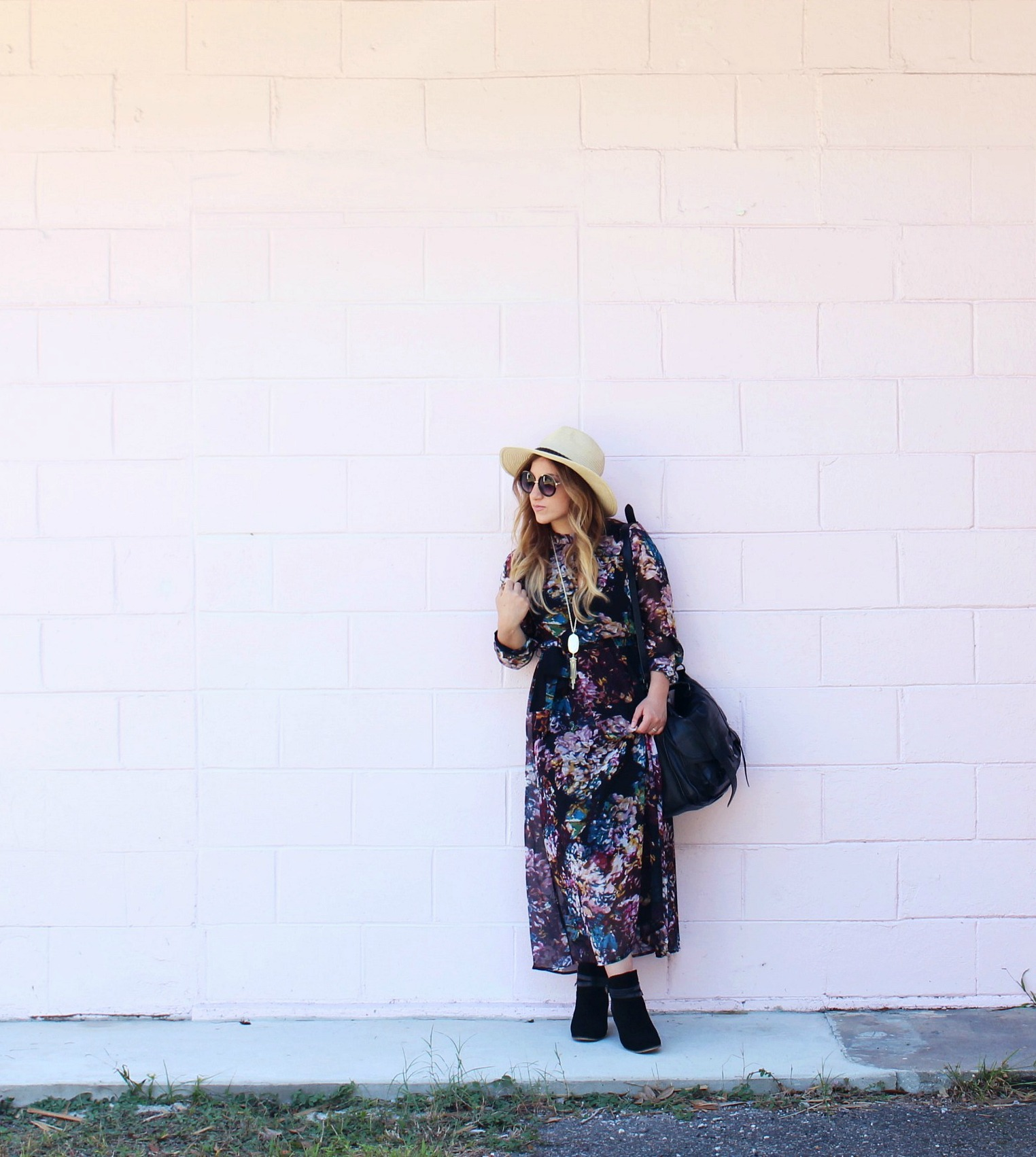 Fall Floral Dress + My New Favorite Collection - Zoe With Love