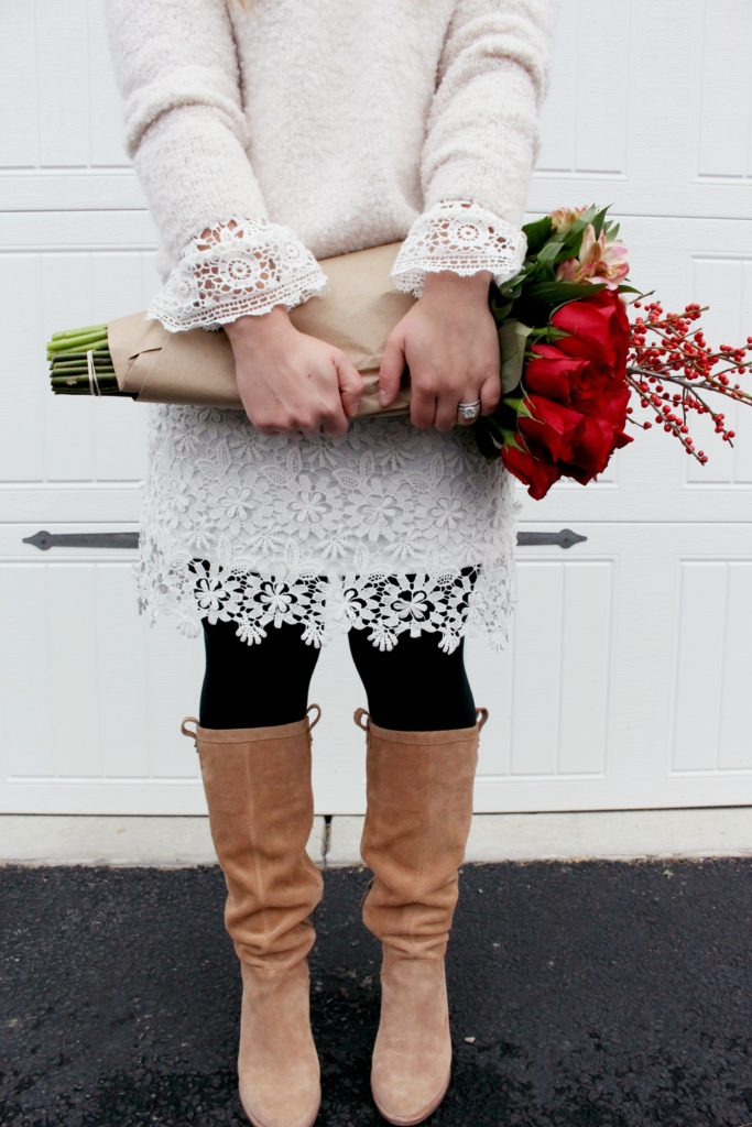 How To Wear White Lace In Winter Zoe With Love